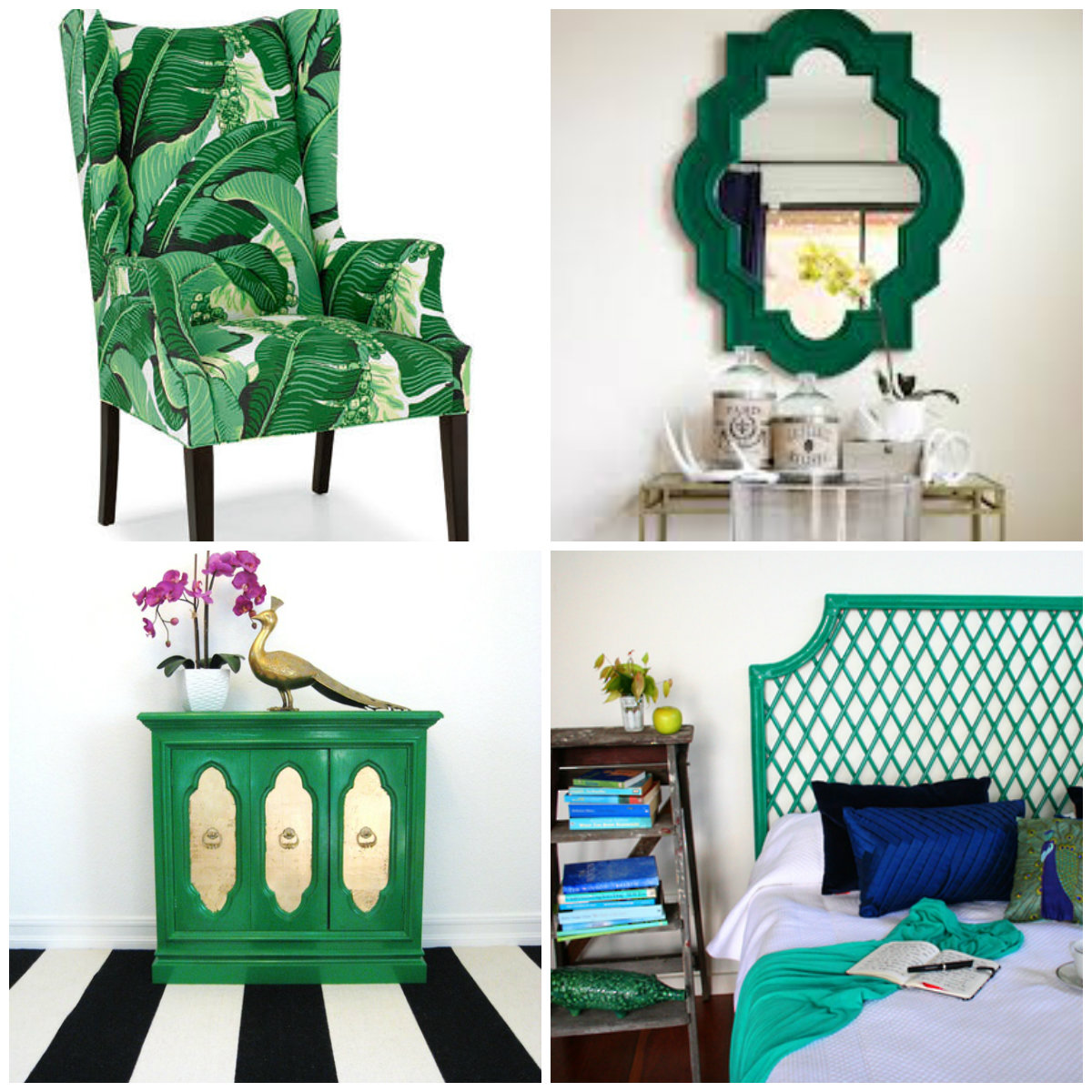 Colour Trend: Emerald Green Furniture!