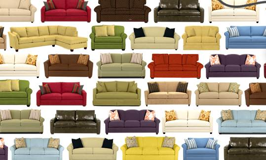Choosing Between Leather And Fabric Couches M Wall